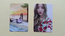 SNSD 6th Album HOLIDAY NIGHT Official Photocard - Tiffany set