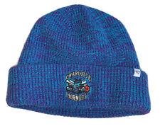Charlotte Hornets Purple Teal Knit Beanie Cap Hat NBA by 47 Brand EUC Basketball