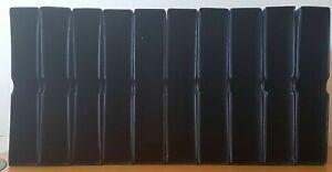 Leuchtturm Cassette/Poussée 10x Noir Excellent Parfait Format 315x305x60mm
