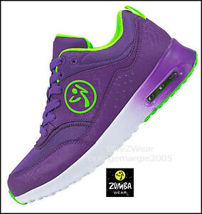 ZUMBA Air Classic Shoes Trainers Sneakes DANCE Fitness Impact Max Suppprt 5.5,6