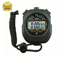 Stopuhr Digital Sport Timer Iuhren Multifunktion Taschenuhr Stopwatch Stopp UHR