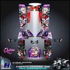 Yamaha Banshee 350 graphics kit sticker decals atv