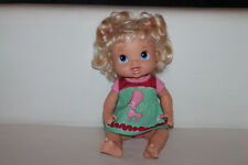 Hasbro 2011 Puppe Baby Alive Kleid Pudel Blond 35cm TOP RAR