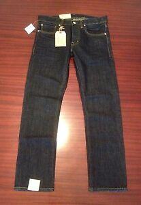 NWT Denim & Supply Ralph Lauren Slim Fit Blue Denim Jeans Men's W32-34 / L30