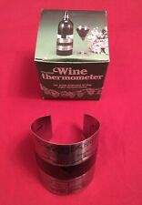Wine Clip Thermometer - Stainless Steel with LCD Display