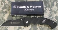 """Smith & Wesson CK212 Homeland Security Folding Knife G10 3.75"""" 440 SS Blade NEW!"""