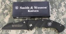 "Smith & Wesson CK212 Homeland Security Folding Knife G10 3.75"" 440 SS Blade NEW!"