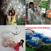 10 - 100 Latex Large Ballons Air & Helium Happy Birthday Party Balloons Baloons