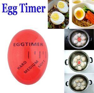 Egg timer indicator soft-boiled display egg cooked degree mini egg boiler UK STK