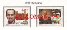 2002 LUIS CERNUDA Y FEDERICO RUBIO GALI DOCTOR POET     3894 / 95 ** MNH TC22060