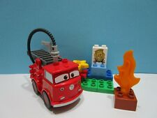 Lego ® Duplo Set 6132  Disney Cars Feuerwehr komplett