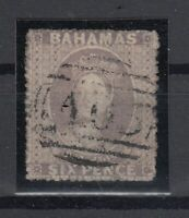 C2654/ BRITISH BAHAMAS – VICTORIA – SG # 6a USED CERTIFICATE – CV 620 $
