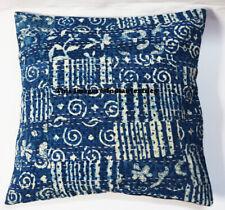 Indian Cotton Hand Block Print Cushion Pillow Cover Home Decor Art Decorative