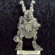 1989 Iron Claw Chaos Beastman Morning Star Citadel Warhammer Beastmen Broo Army