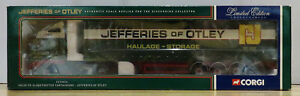 Corgi 1:50 CC12416 Volvo FH Globetrotter Curtainside Jefferies 1685/2600 MIB FHJ