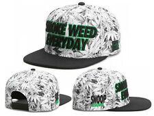 Men's SMOKE WEED CAYLER SONS Snapback Adjustable Baseball Cap Hip hop rock Hat