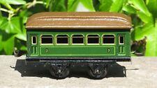 Vintage BING GERMANY TIN LITHO # 3 Passenger Car Coach