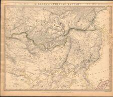 1838 Antiguo Mapa-Sduk-Siberia y chino Tartary