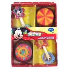 NEW DISNEY MICKEY  MOUSE CUPCAKE DECORATING SET (1)