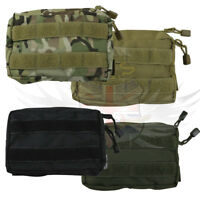 NEW KOMBAT UK TACTICAL SMALL MOLLE UTILITY WEBBING POUCH BLACK,GREEN,COYOTE,BTP