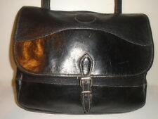 ROOTS RARE ORIG. FRENCH HUNTING BAG BOX PROTOTYPE BRIEF/MESSENGER $328 RETL