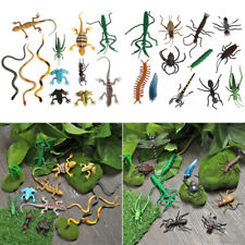 Kids Gift Educational Toy Insect Snake Lizard Ant Fun Model Farm Animal