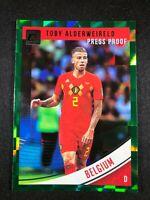 2018-19 Panini Donruss Toby Alderweireld Belgium Spurs #102 Green Press Proof