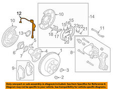 NISSAN OEM ABS Anti-lock Brakes-Rear Speed Sensor 47900AL505