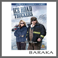 Ice Road Truckers - The Complete Season 7 DVD R4 New & Sealed 3 Discs