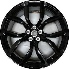 """Originale Range Rover Sport L494 22 """" Svr Cerchioni Nuovo Stile 5083 Black Gloss"""