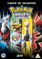 NEW Pokemon Movie 10 - 13 Collection - Diamond & Pearl DVD