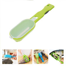 Fish Scaler Scale Scraper Clam Opener for Cleaning Scraping Fish Kitchen Tools