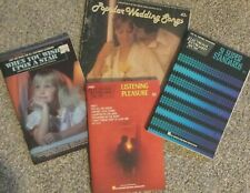 Lot of 4 Songbooks for Electronic Keyboard Music: Easy 123 Very Good