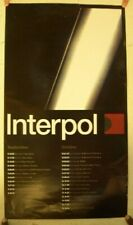 Interpol Poster Tour Poster