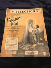 Vintage Piano Music - The Vagabond King, Russell Janneys New Spectacular Musical