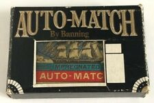 Vintage Auto-Match Banning Lighter Match Box Style 1950s