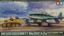 Tamiya 1:48 Messerschmitt Me 262 A-2a w/ Kettenkraftrad Plastic Model Kit #61082