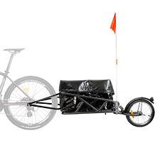 CyclingDeal Bicycle Bike Single Wheel Cargo Trailer With Luggage Bag