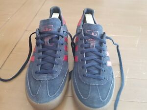 Men's ADIDAS JEANS Blue Suede Trainers AQ0922. UK Size 7.