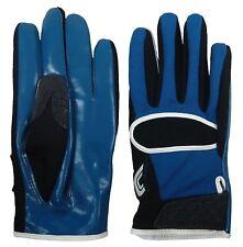 Cutters Gloves 017 Original C-Tack Receiver Black/Blue Football Gloves - Size: L