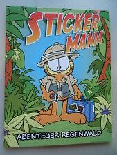 Sammelbilderalbum Sticker Mania Abenteuer Regenwald