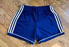Adidas Climalite Athletic Activewear Shorts Navy Blue White Logo Size XS Mens