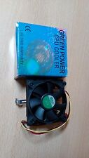 Green Power CPU Cooler DC 12V MMX K6 PGA 370