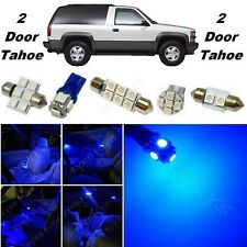 16x Blue LED lights interior package kit for 1992-1999 2 door Tahoe/Yukon CT4B