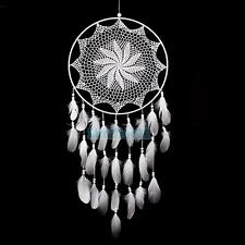 """43.3"""" Large Handmade Dream Catcher with White Feathers Wall Hanging Decoration"""