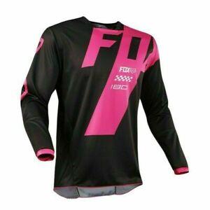 Mens FOX Cycling Jersey Motocross MX/ATV/BMX/MTB Dirt Bike Long Sleeve Race Top
