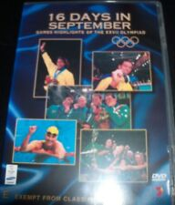 Sydney Olympics 16 Days In September Games Highlights XXVII DVD - All Regions