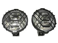 2x Fernscheinwerfer Weiß CHROM Zusatz Halogenscheinwerfer  H3 12V/24V LKW