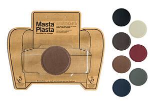 MastaPlasta Self-Adhesive Leather Repair Patch 5cm/2in Circle Sofa Car Seat Bags