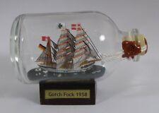Gorch Fock Mini Buddelschiff 50 ml 7,2 x 4,5 cm original Flaschenschiff Handmade